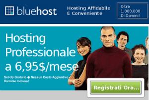 VPS di Bluehost: metà prezzo per il primo mese!