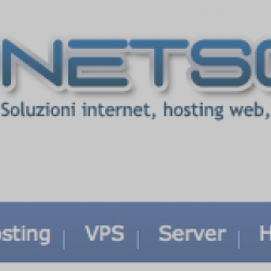 Netsons – Hosting web a 1.25 € / mese