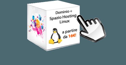 hosting linux da 16€