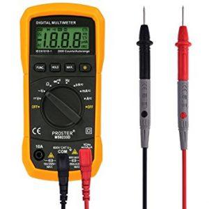 Come misurare la corrente con un multimetro