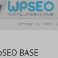 Hosting WordPress WpSEO BASE – Mod_pagespeed pre-installato