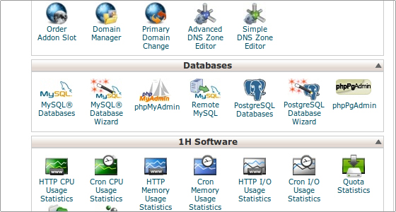 Come creare database ed utente MySQL (via cPanel) (Guide, Guide database MySQL)