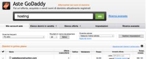 """<span class=""""entry-title-primary"""">Aste di domini, come sono gestite?</span> <span class=""""entry-subtitle"""">Un esempio di come funzionano le aste di dominio partendo dal famoso provider di hosting GoDaddy</span>"""