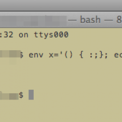 Cos'è ShellShock, il bug della shell BASH che apre una falla su Linux e Mac