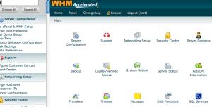 Gestione di account reseller: uso base di WHM (Guide)