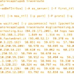 Come fare il traceroute su Windows e Mac