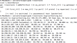Come fare il traceroute su Windows e Mac