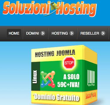 Dominio + Hosting + Database + Email da soli 16€+iva annui (News)