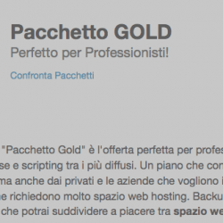 Hosting99 – Pacchetto GOLD