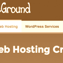 SiteGround WordPress Hosting StartUp