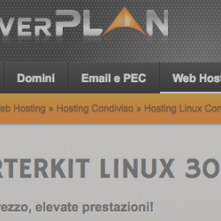 Serverplan StarterKit Linux (supporta HTTPS con Let's Encrypt)