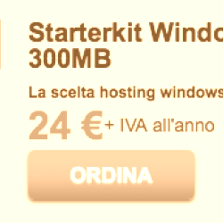 ServerPlan StarterKit Windows (hosting ASP .NET, supporta HTTPS gratuito)