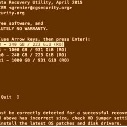 Come recuperare foto o file cancellati con TestDisk