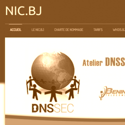 Registrazione domini con estensione: .bj