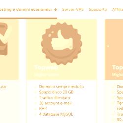 Come si registra un dominio con TopHost