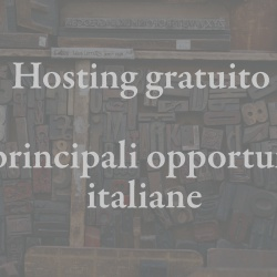Hosting gratis italiano per PHP/WordPress/Joomla!…