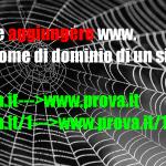 Come aggiungere www. dal nome di dominio di un sito