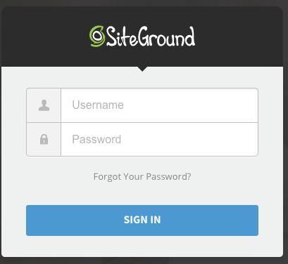 Come si accede al pannello di controllo del mio sito su SiteGround (Guide, Configurazione Hosting)
