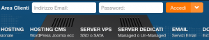 Come si accede al pannello di controllo del mio sito su V-Hosting