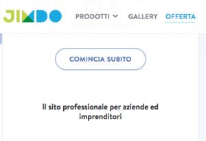Sitebuilder Jimdo