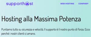 SupportHost: certificato SSL gratuito incluso nei piani di hosting