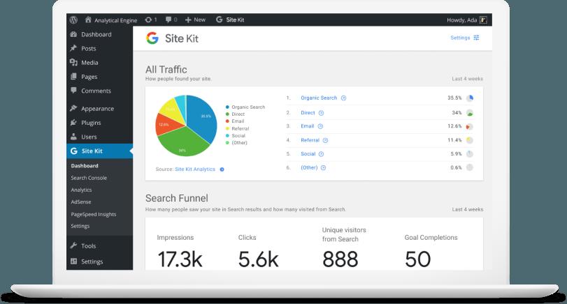 Google Site Kit: il plugin per WordPress arriva in versione beta (News)