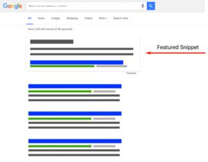 Come raggiungere la posizione zero su Google