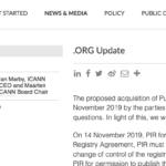 Ethos Capital frenata dall'ICANN: trattativa per l'estensione .org rinviata