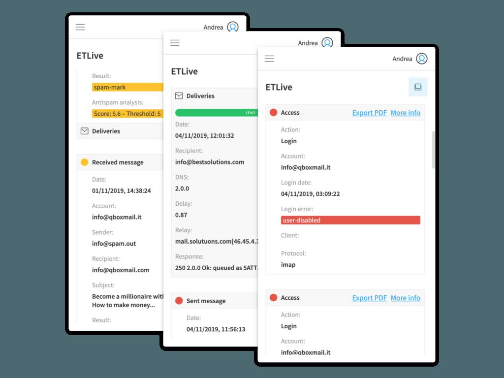 Qboxmail: panoramica sul pannello di controllo/API (News)