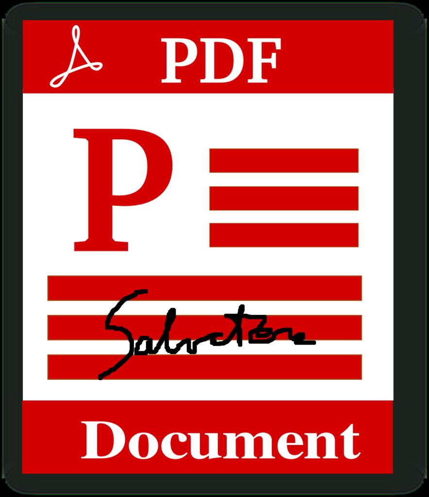Come inserire la tua firma (scansione) in un PDF (Guide, Assistenza Tecnica)