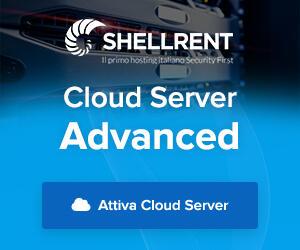 Dettagli offerta: Cloud Server Advanced Shellrent