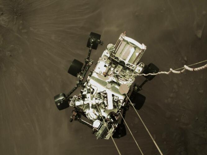 """""""Ammartaggio"""" compiuto: Perseverance è su Marte (News, Fuori dalle righe)"""